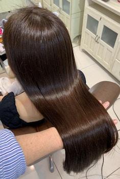【髪質改善】髪の水分補給 自社開発 プラチナシステム