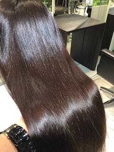 髪質改善プラチナトリートメント+超音波セラムTR