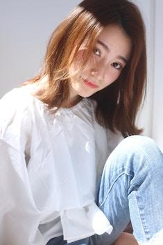 【HAIRLOGY】大人かわいいナチュラルミディ by鈴木