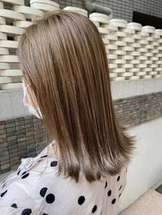 髪質改善ツヤカラー