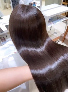 髪質改善カットカラー
