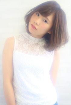 オトナ女子向け イノセントアッシュ【銀座 美容院】